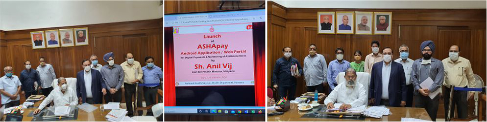 Launch of ASHApay