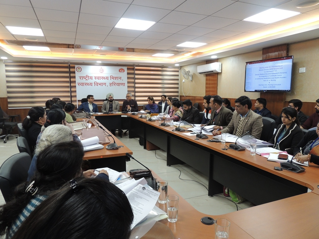 Coordination Meeting with all Directors (Medical College), all Principals (Nursing College/ Schools)