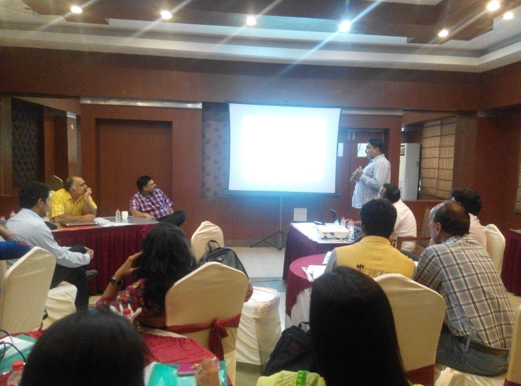 5th round of Data Workshop (Rohtak)