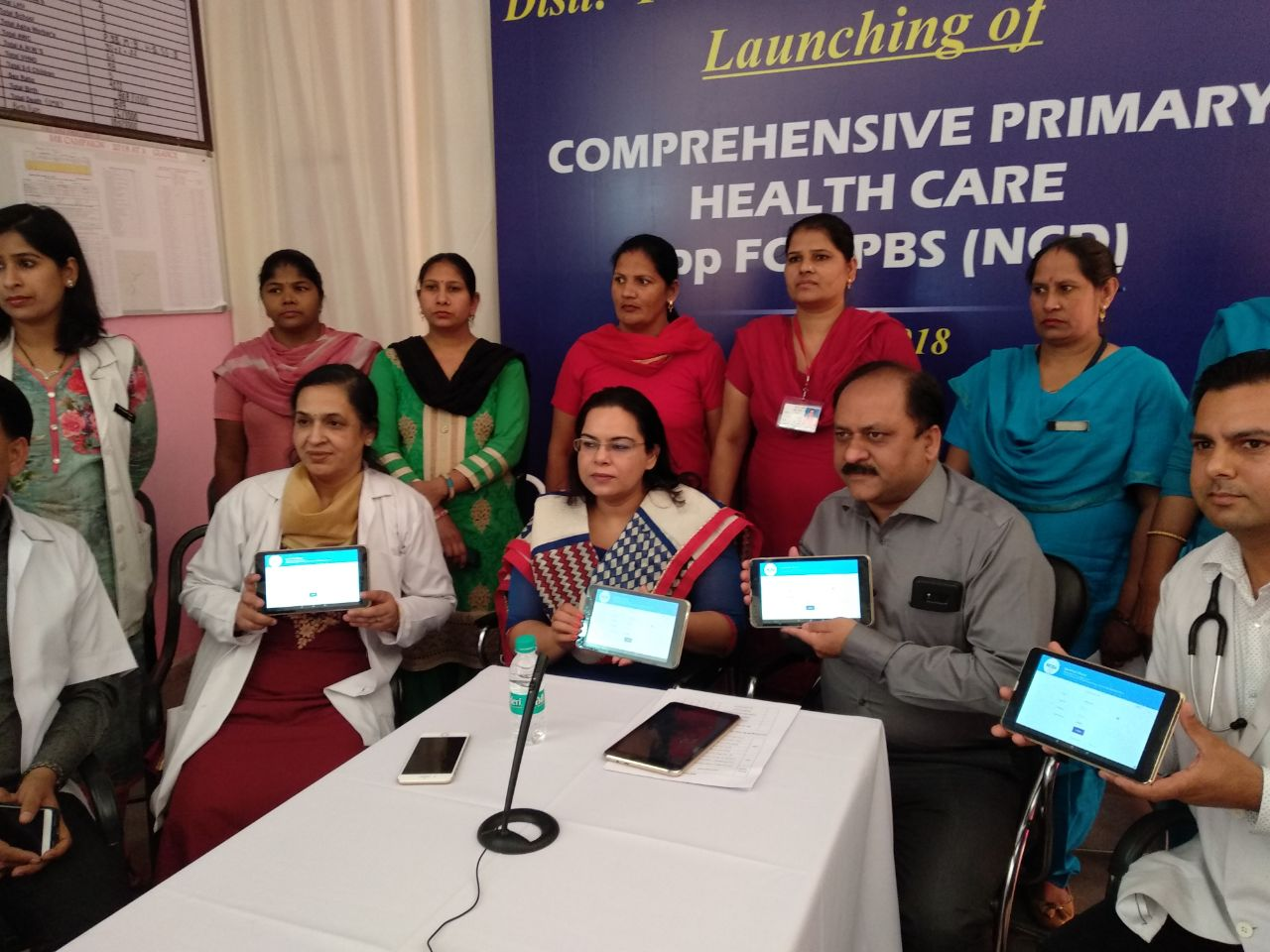 Inauguration of NCD App by Hon