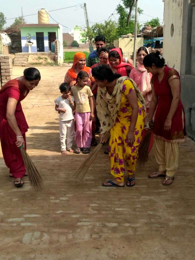 Swachhatta Se Siddhi Cmapaign: Activity of District Kurukshetra on 02.04.2018