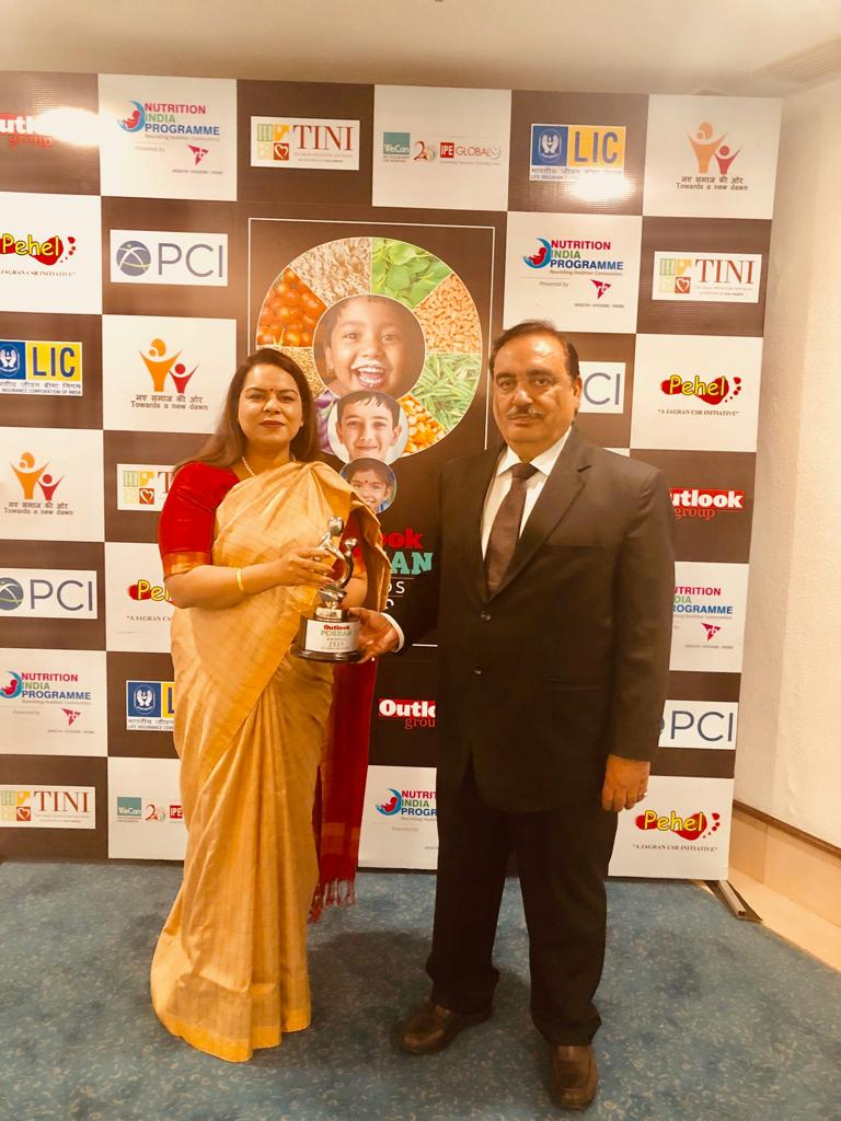 Outlook Poshan Award 2019